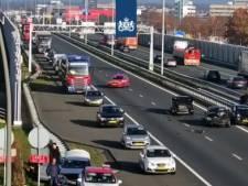 A2 Eindhoven richting Maastricht weer open na aanrijding met vier auto's
