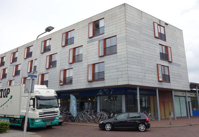 De 29-jarige Irene bewoonde sinds eind vorig jaar een appartement boven het winkelcentrum in Holtenbroek.
