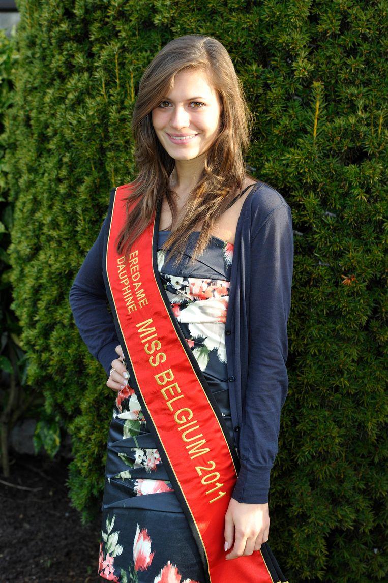 In 2011 werd Sara vijfde bij Miss België.