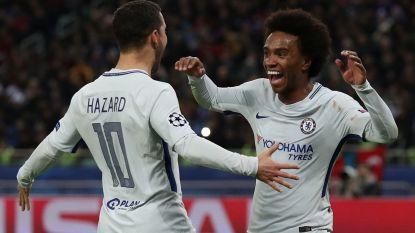 Vrijgevige Eden Hazard charmeert: hij schenkt zijn trofee meteen weer weg