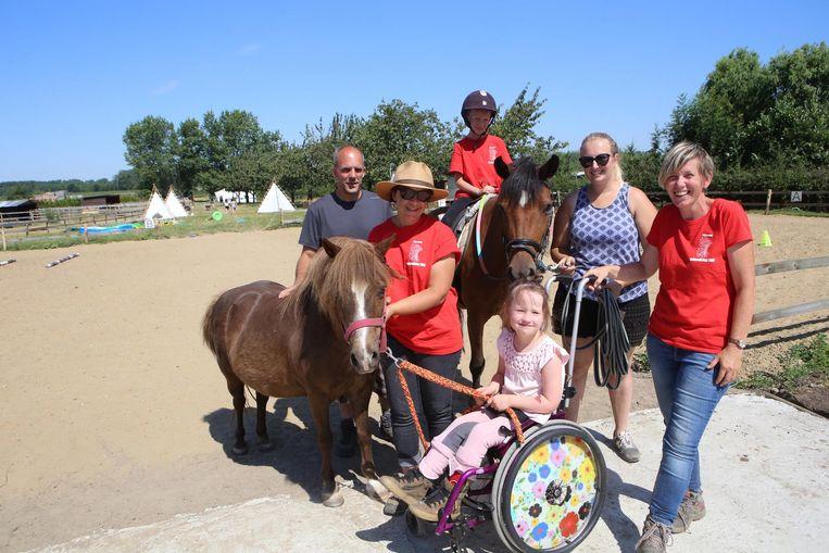 De nieuwe locatie van Polly's Ranch is vier keer groter dan de vorige, dus betekent dat ook plek voor meer kindjes.