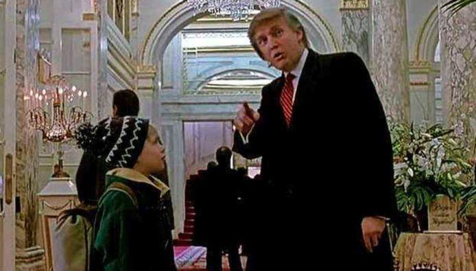 Donald Trump in 'Home Alone 2'.