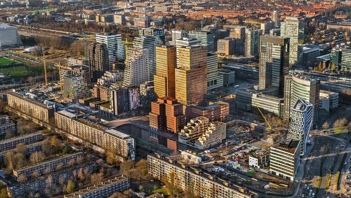 De Zuidas is een van de factoren die bijdraagt aan de naam van Amsterdam als welvaartsmachine
