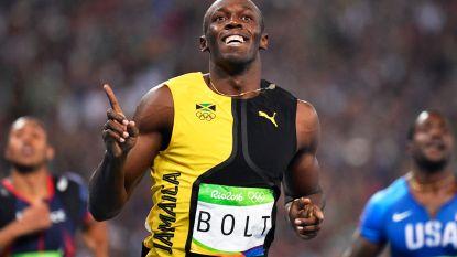 Usain Bolt wordt papa
