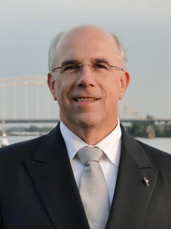 De in opspraak geraakte partijvoorzitter Peter Zevenbergen.