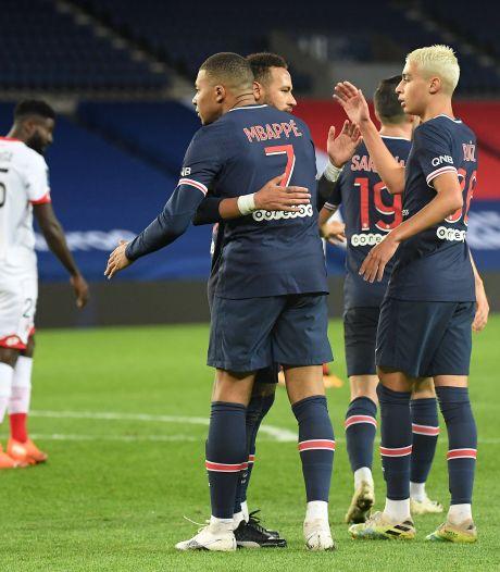 Kean en Mbappé helpen PSG aan koppositie na zege op Dijon