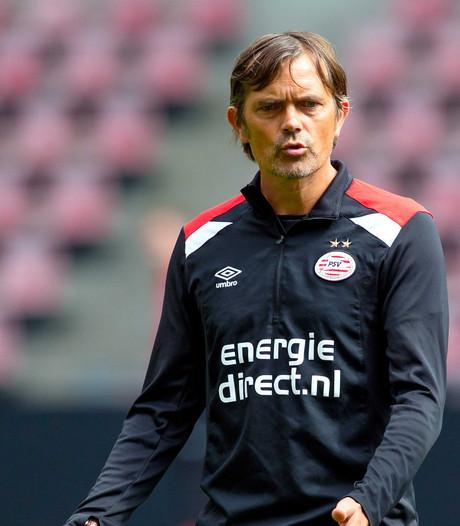 Cocu ziet 'moeten in plaats van mogen' bij PSV en ziet goed niveau bij Osijek