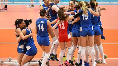 Italië en Servië spelen de finale van WK vrouwenvolley