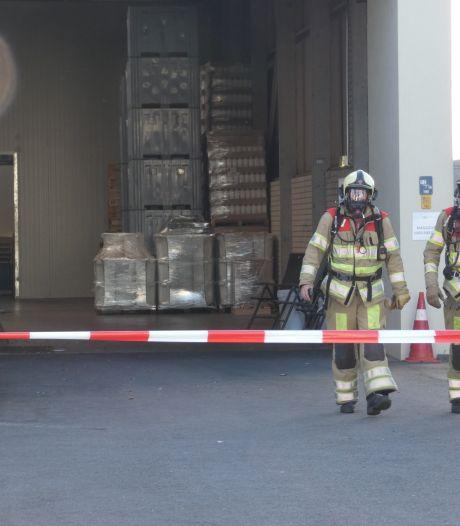 Pallet met chloortabletten raakt oververhit in Veenendaal: mogelijk geuroverlast