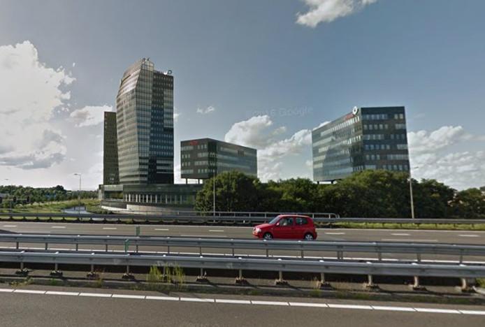 De IJsseltoren bij de entree van Zwolle.