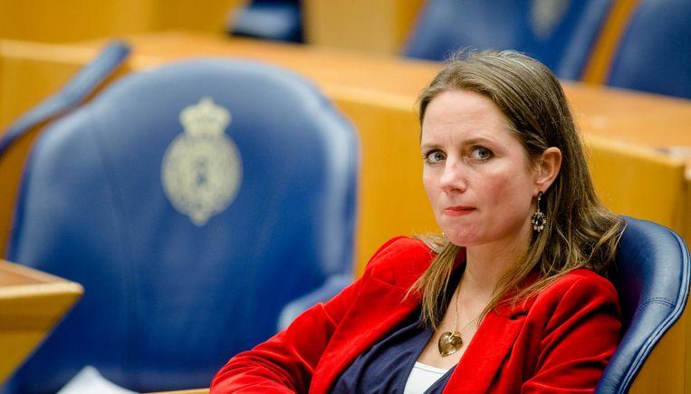 PVV-Kamerlid Fleur Agema. Beeld null