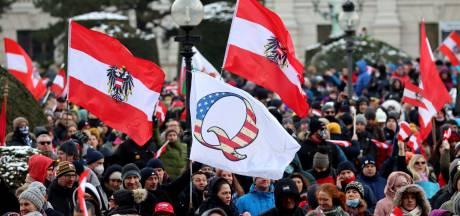 10.000 manifestants antimasques à Vienne