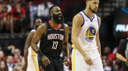 Golden State smeert Houston na negen zeges op rij nog eens een nederlaag aan
