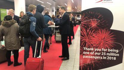Brussels Airport haalt voor het eerst de kaap van 25 miljoen reizigers