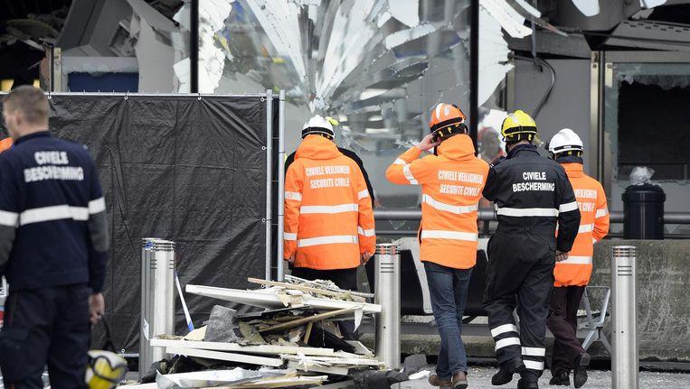 Bij de aanslagen in Zaventem en Brussel hebben meer dan 100 agenten van de Civiele Bescherming geholpen bij het opsporen en evacueren van slachtoffers.