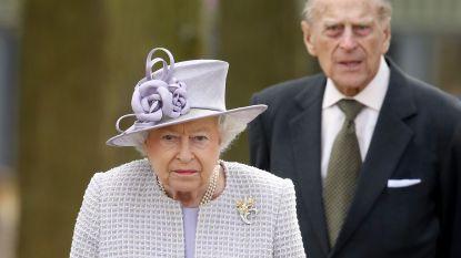 Queen Elizabeth en Philip na twee jaar weer samen onder een dak