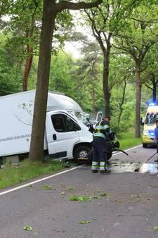 Man gewond na ongeval op N260 tussen Best en Son en Breugel