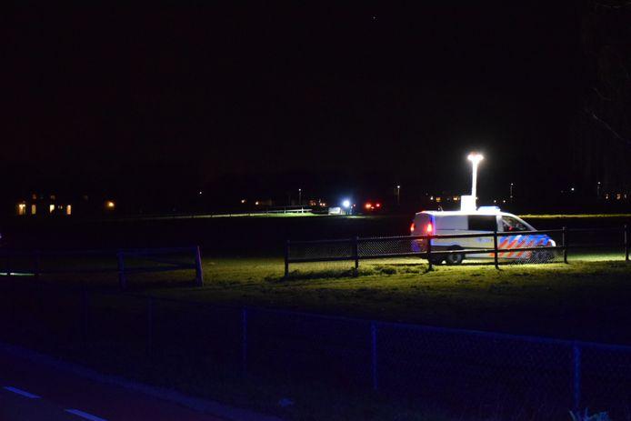 De politie is nog bezig met onderzoek na het dodeiljke ongeval in Groesbeek.