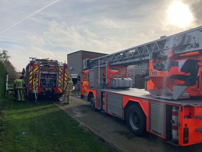 De brandweer kreeg de brand al snel onder controle