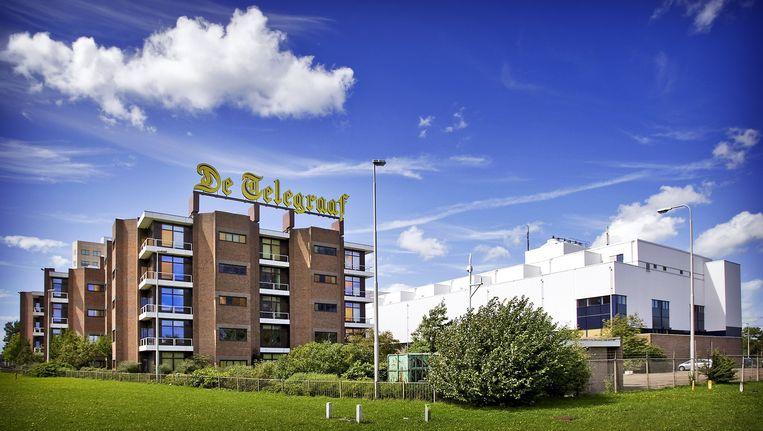 Het hoofdgebouw van dagblad De Telegraaf. Beeld ANP