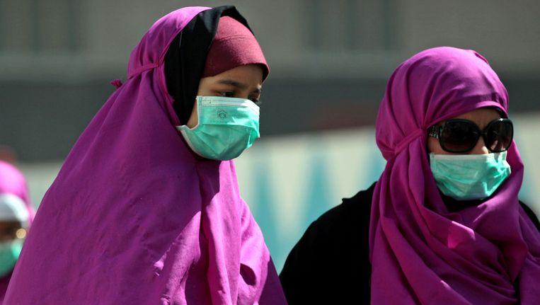 Pelgrims, vorige maand in Mekka. Beeld ap
