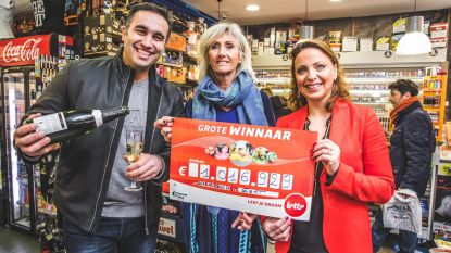 Salah van Paparazzi viert zonder Lotto-miljonair