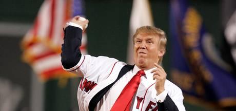 Trump breekt met lange traditie bij baseball