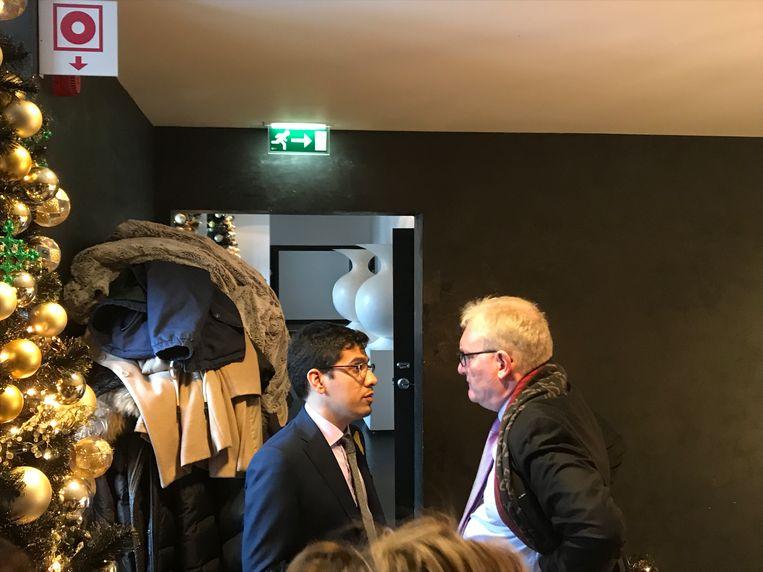 Ook Pol Van den Driessche was aanwezig.