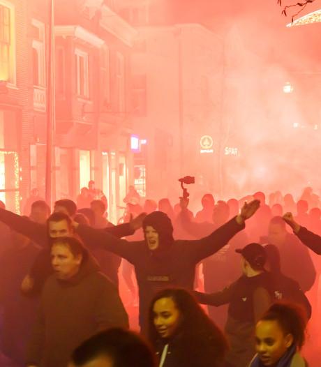 Supporters PEC Zwolle schenden vuurwerkverbod