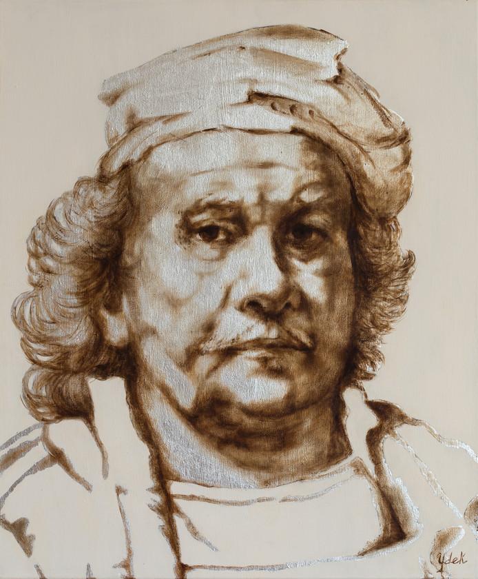 Yvonne de Kramer: Zelfportret Rembrandt van Rijn