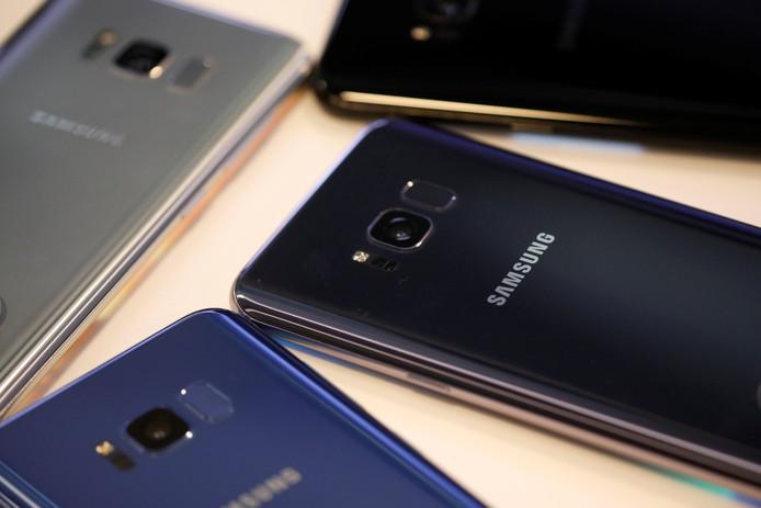 Smartphones van Samsung