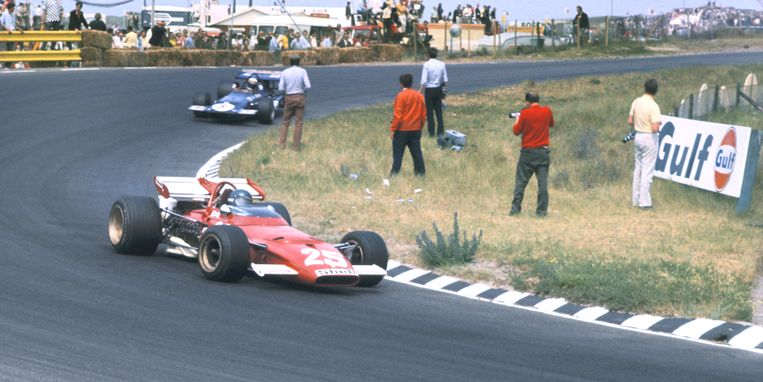 Formule 1 wedstrijd in 1975 in Circuit park Zandvoort.  Beeld ANP