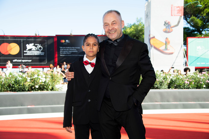 Le réalisateur Vaclav Marhoul (droite) et l'acteur Petr Kotlar