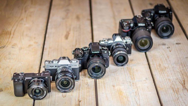 Deze zes camera's, met een prijs rond 1000 euro voor de 'body', zijn stilaan 'evergreens' aan het worden.
