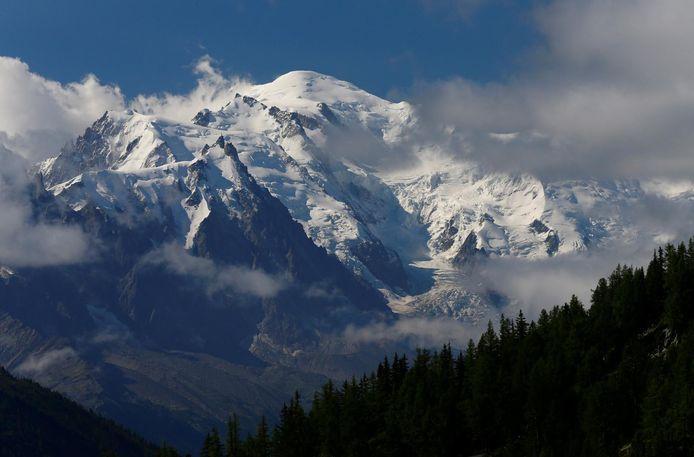 De Mont-Blanc (4.809 meter).