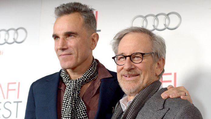 Daniel Day-Lewis et Steven Spielberg (Lincoln)