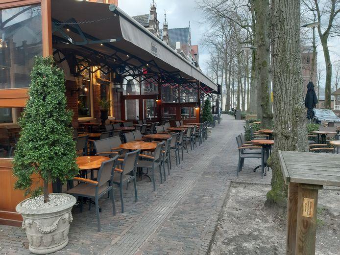 Geen terrassen in Oisterwijk en dus ook geen precariobelasting voor de gemeente