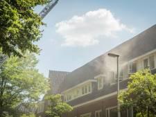 Veel rook bij woningbrand Stolberglaan in Utrecht