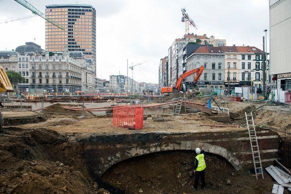 De Antwerpse binnenstad is al jaren een grote werf.