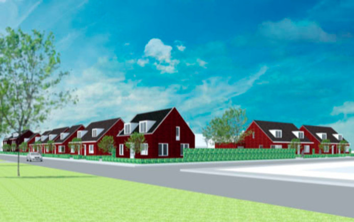 Bij de Groeve Boudewijn in Ossendrecht, waar vroeger een kalkzandsteenfabriek stond, is nu een nieuwbouwproject met 32 woningen voorzien, waarvan er 18 langs de Meiduinweg komen te staan.