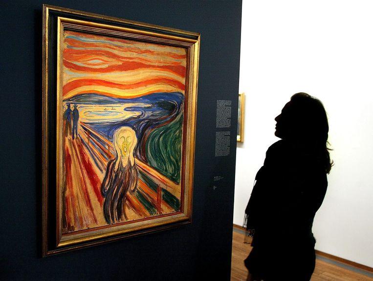De Schreeuw van Edvard Munch.