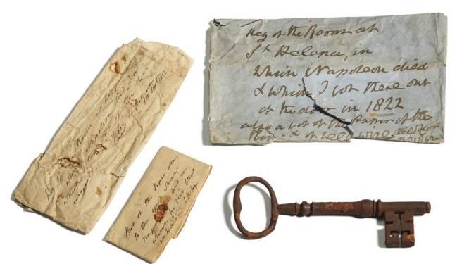 Celsleutel Napoleon verkocht voor 92.000 euro