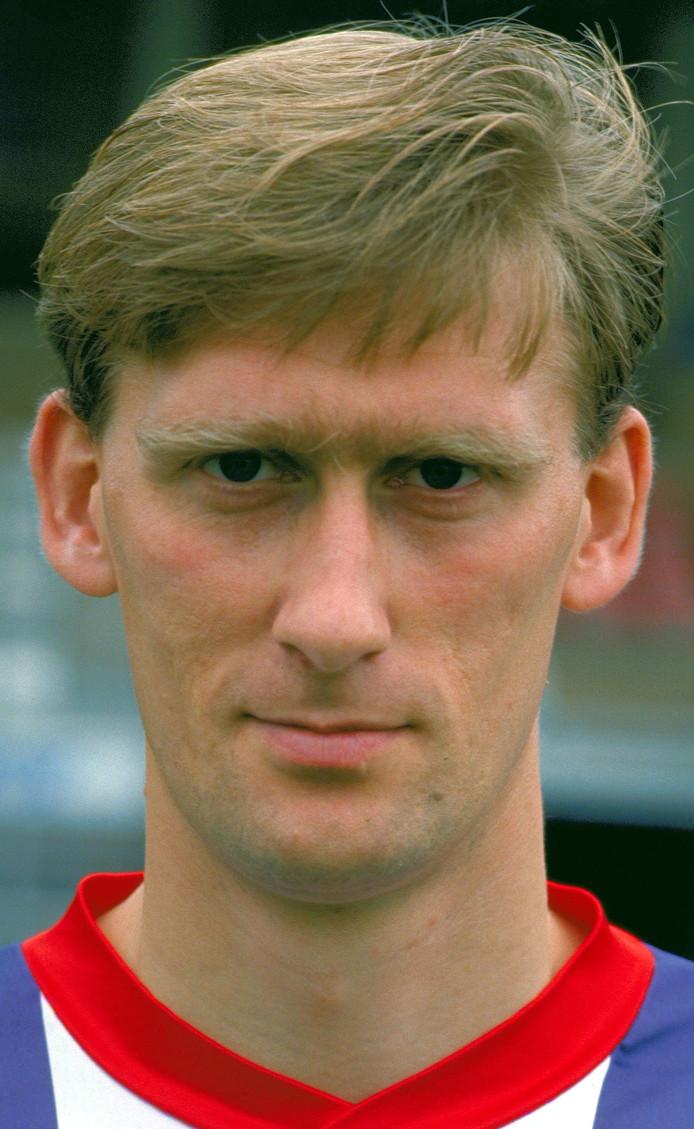 Wanny van Gils in het shirt van Willem II.