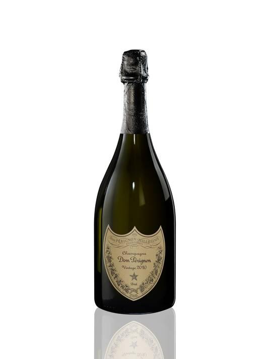 Dom Pérignon - Vintage 2010 - Prix conseillé: 160 euros.