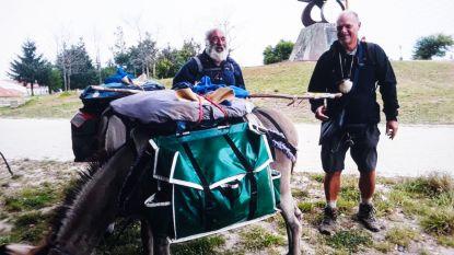 Met de ezel 2.800 kilometer naar Compostella