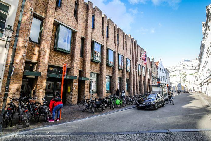 Brugge biekorf bib wordt verbouwd