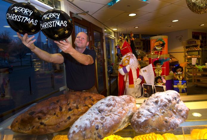 Sinterklaas eruit, Kerstmis erin. Bij bakkerij Paul Berntsen weten ze als geen ander dat het december is.