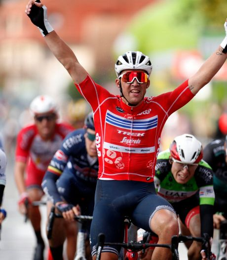 Mads Pedersen fait coup double dans la troisième étape du BinckBank Tour