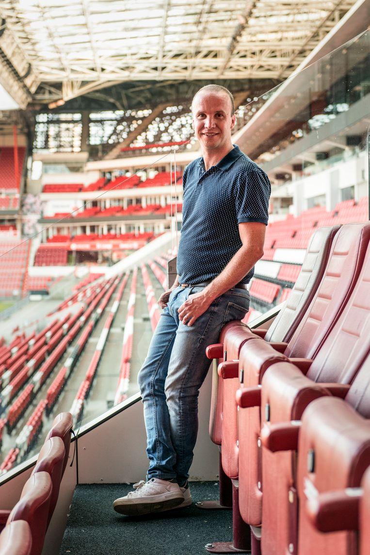 Joost van de Ven, liedjesschrijver van PSV Eindhoven Beeld Eva Faché