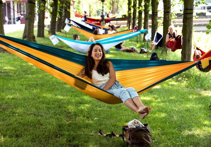Je mag komende zomer gewoon je hangmat ophangen in Utrecht
